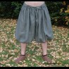 Short Rus Viking trousers from linen - khaki XXXL size