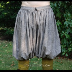 Rus Viking trousers from light brown wool