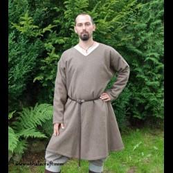 Hand sewn woolen Viking tunic