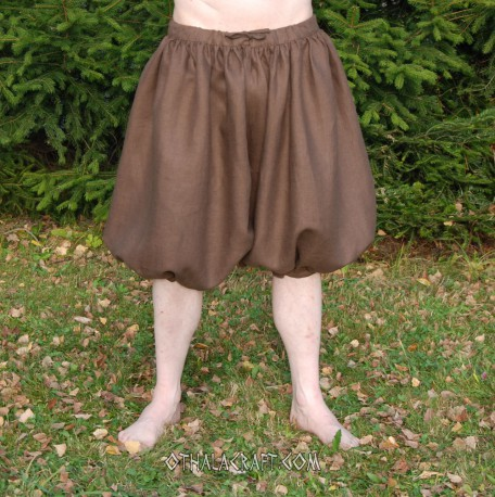Short Rus Viking – from brown linen
