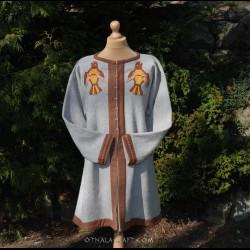 Woolen caftan – hand woven diamond wool