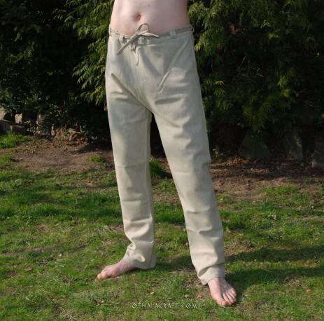 Woolen Thorsberg trousers – beige