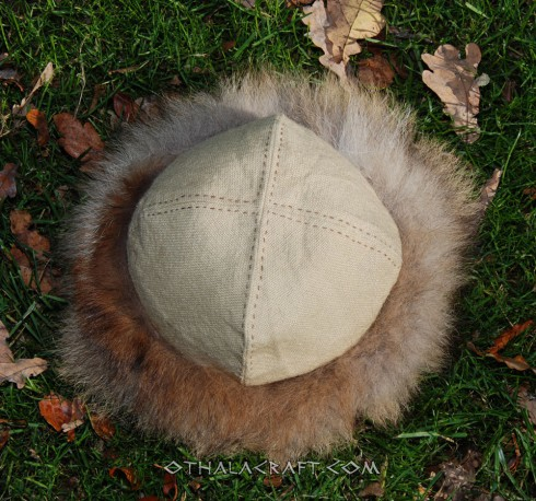 Viking hat - diamond wool