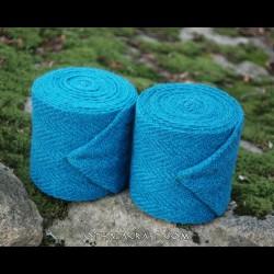Leg wraps -sea color