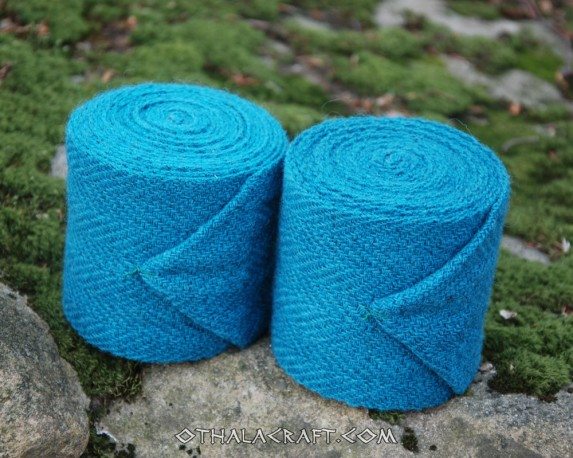 Leg wraps -sea color