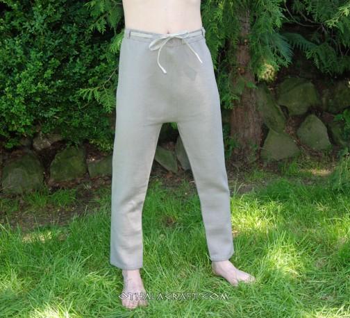 Woolen Thorsberg trousers – olive