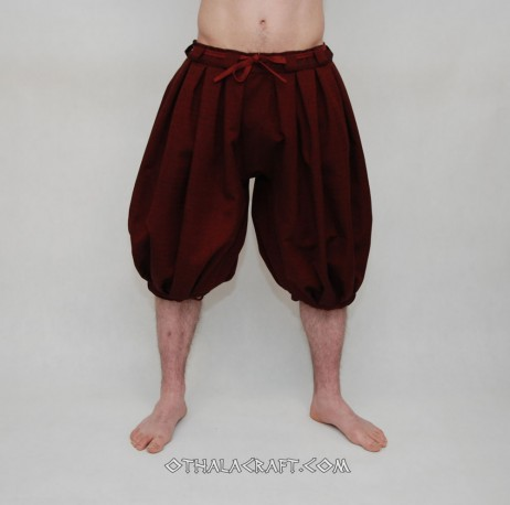 Haithabu trousers – dark red