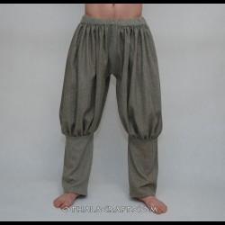 Rus Viking trousers – light brown stripes
