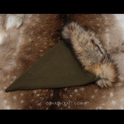 Green triangle hat for Viking