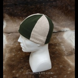 Three colours woolen hat - Birka style