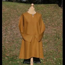 Viking linen tunic, early medieval – honey shade