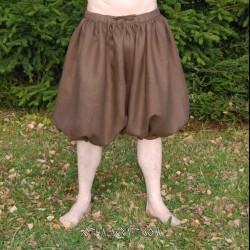 Short Rus Viking – from brown linen