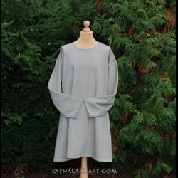 Simple woolen tunic - blue