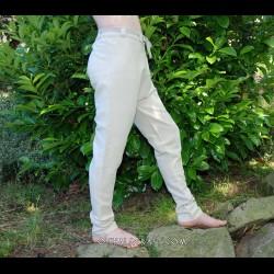 Linen Thorsberg trousers – natural linen