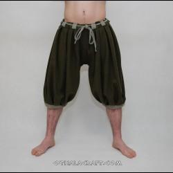 Haithabu trousers – green/light green