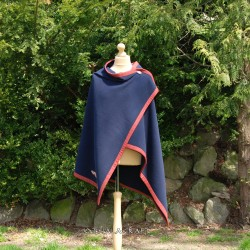 Viking cape with embroidery